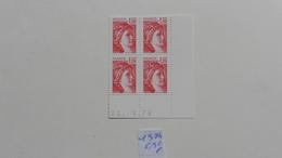 France :Coin Daté Neuf : Sabine    N°1974 - 1970-1979
