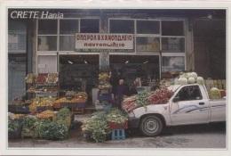 CPM - CRETE - HANIA - MARCHAND De LEGUMES - Edition Locale - Grèce