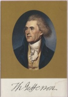 CPM - THOMAS JEFFERSON - Auteur Declaration De L'independance E.U - Edition US - Politicians & Soldiers