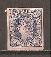 Antillas Española - Edifil 11 - Yvert 15 (MH/*) - Cuba (1874-1898)