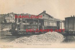 78 // MAULE   Arrivée Du Tramway De Versailles   Edit Du Petit Mantais - Maule