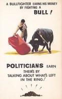 COMIC - BULLFIGHTING/POLITICAL THEME - Comics