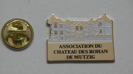 Pin's - Ville MUTZIG Le Château Des ROHAN 67 Bas-Rhin - Cities