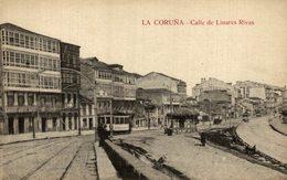 LA CORUÑA CALLE DE LINARES RIVAS - La Coruña