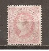 Cuba - Edifil 21 - Yvert Antillas Españolas 25 (MH/(*)) (sin Goma Y Defectuoso) - Cuba (1874-1898)