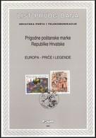 Croatia 1997 / Europa CEPT / Stories And Legends / First Day Sheet / ETB - Croatie