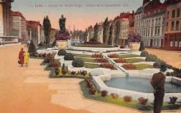 59 - LILLE - Avenue Du Peuple Belge - Jardins De La Basse-Deûle - Lille