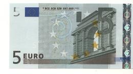 "5 EURO  ""L""  FINLAND    Firma Trichet     E 010 A1   /  FDS - UNC - EURO"