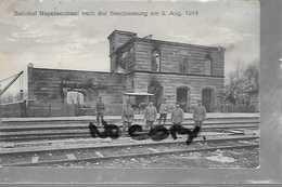 68 MULHOUSE ILE NAPOLEON GARE DESTRUCTION 1914 - France