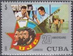 1982.93 CUBA Ed.2817. 1982. MNH. 20 ANIV UJC, ERNESTO CHE GUEVARA. - Unused Stamps