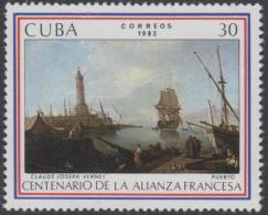 1983.105 CUBA Ed.2921. 1983. MNH. BICENTENARIO ALIANZA FRANCESA, FRANCE. - Cuba