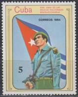 1984.136 CUBA Ed.3064. MNH. 1984. 25 ANIV MILICIAS NACIONALES. MILITIA ARMY. - Unused Stamps