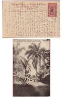 Belgisch Congo Belge Surchargé Est Africain Allemand Occupation Duitsch Oost Afrika Belgische Bezetting Obliteration - 1894-1923 Mols: Lettres