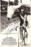 Jean Robic  Autographe - Sportsmen