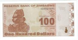 Zimbabue - Zimbabwe 100 Dollars 2009 Pick 97 Serie AA UNC - Zimbabwe