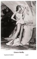 GRACE KELLY - Film Star Pin Up PHOTO POSTCARD - 61-47 Swiftsure Postcard - Postcards