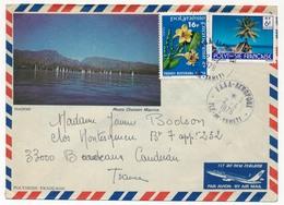 POLYNESIE - Enveloppe Affr Composé Obl. FAAA Aéroports Ile De Tahiti - 1979 - Polynésie Française