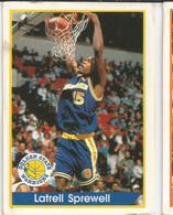 Latrell Srpewell Panini Nº 139 - NBA Year 94-95 Unused - Panini