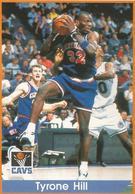 Tyrone Hill Panini Nº 40 - NBA Year 94-95 Unused - Panini