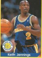 Keith Jennings Panini Nº 136 - NBA Year 94-95 Unused - Panini