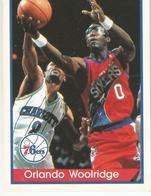 Orlando Woolridge Panini Nº 108 - NBA Year 94-95 Unused - Edizione Italiana