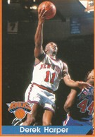 Derek Harper Panini Nº 88 - NBA Year 94-95 Unused - Panini