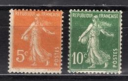 FRANCE 1919 / 1921 -  Y.T. N° 158 ET 159 - NEUFS* - France