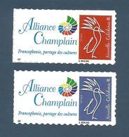 NOUVELLE CALEDONIE (New Caledonia)- Timbres Personnalisés - Alliance Champlain - 2018 - Cagou Werling - Nuevos
