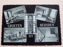 Groeten Uit HEUSDEN - H. HARTCOLLEGE P. P. Minderbroeders ( Thill ) Anno 1968 ( Zie Foto Details ) !! - Heusden-Zolder