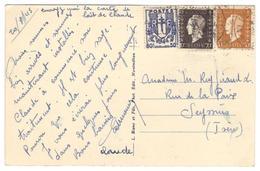 3391 - CHALLES LES EAUX - Storia Postale