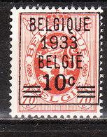 375**  Lion Héraldique Avec Préoblitération - Bonne Valeur - MNH** - COB 80 - LOOK!!!! - Belgique