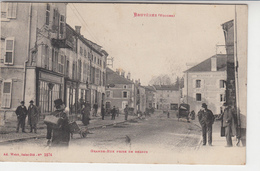 88 BRUYERES  Grande Rue Prise De Dessus - Bruyeres