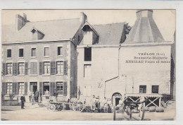 Trélon (Nord) Brasserie-Malterie .. Um 1915 Feldpost - Fourmies
