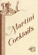 Petit Livret MARTINI COCKTAILS. Avec Recettes Apéritifs. - Gastronomie