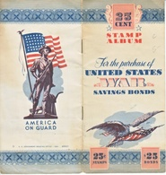 U.S. P S 12   WAR SAVINGS BOOKLET  W / 5  STAMPS 2 SCANS - United States