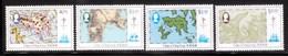 Hong Kong 1984 Scott 427-30 Maps MNH** - Hong Kong (...-1997)