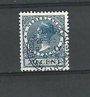 1926 / 28   N° 179  WILHELMINE 20 CENT 13 1/2 DENT OBLIT  DOS CHARNIERE - 1891-1948 (Wilhelmine)