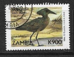 ZAMBIA    1999 Birds Scopus Umbretta     USED - Zambie (1965-...)