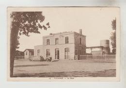 CPSM OMBREE D'ANJOU Ex. POUANCE (Maine Et Loire) - La Gare - Other Municipalities