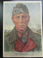 Postkarte Postcard Erwin Rommel - Willrich - Feldpost 1941 Pirna - Weltkrieg 1939-45