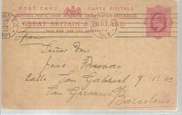 STATIONERY 1907  LAYTON  ESSEN - 1902-1951 (Rois)