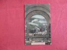 Painting--  Battle Of Concord Bridge  State House   Boston  Massachusetts >     -- Ref 2982 - History
