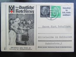 Postkarte Postcard DRK 1942 - Bedarf - Deutschland