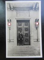 Postkarte Postcard Braunes Haus München - SS Wache 1935 - Briefe U. Dokumente