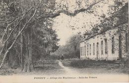 18 / 6 / 178   - POIGNY  ( 77 )  ABBAYE  DES  MOULINEAUX  - SALLE  DES  PRIEURS - France