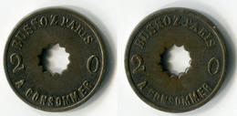 N93-0489 - Monnaie De Nécessité - Paris - Bussoz - 20 Centimes - Monetari / Di Necessità