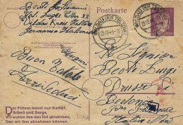 PRIGIONIERO LAVORATORE WERKLAGER WILDAU GERMANY 1944 X DRUSCO - 1900-44 Victor Emmanuel III