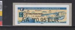 ATM-LISA : BROTHER  L. PRIO 0.95 €  - PAQUEBOT - PARIS 7-10 Juin 2018 - 2010-... Illustrated Franking Labels