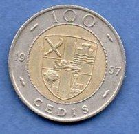 Ghana  -  100 Cedis 1997 -  Km # 32  - état  TTB - Ghana