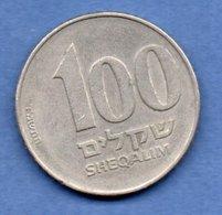 Israel -  100 Sheqalin -  Km # 143  - état  TTB - Israel